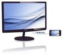 "Monitor 21,5"" led/ips philips-full hd- multimidia- dvi- vga hdmi/mhl - 227e6edsd - Philips"