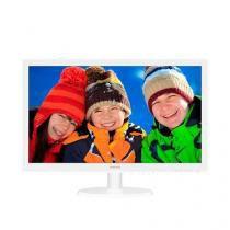 Monitor 21,5 LED Philips BRANCO-HDMI-VGA-FULL HD-VESA - 223V5LHSW -