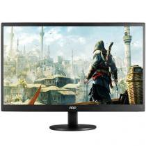 Monitor 23,6 AOC M2470SWD2 - LED Wide Preto -