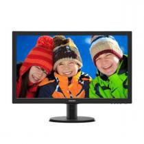 Monitor 23,6 LED Philips - HDMI - FULL HD - Multimidia - DVI - Vesa - 243V5QHABA -