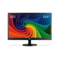 "Monitor 23,6"" led/wva aoc - vga - dvi - full hd - vesa - m2470swd - Aoc"