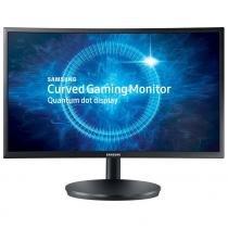 "Monitor 23.5"" Samsung LC24FG70FQLXZD, Game LCD Dual Hinge - Preto -"