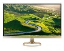 Monitor 27 LED ACER - Quad HD - VGA - HDMI - DVI - Inclinacao 15O - USB 3.1-BRANCO/DOURADO - H277HU - Acer