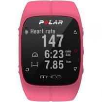 Monitor de Frequência Cardíaca Polar M400 GPS Rosa HR - Polar