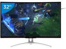 """Monitor Gamer Full HD AOC LCD Curvo 31,5"""" - Agon"""