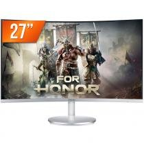"Monitor Gamer LED 27"" Samsung 60Hz 4ms Tela Curva C27F591 -"