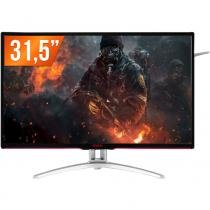 "Monitor gamer led 31,5"" aoc agon 144hz 5ms tela curva full hd ag322fcx/75 - Aoc"