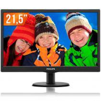 "Monitor LCD 21,5"" Philips Full HD 1 HDMI Widescreen 223V5LHSB2 -"