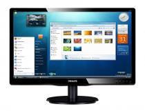 Monitor LCD com iluminação LED Philips Tela 23 Resolução Full HD - Philips