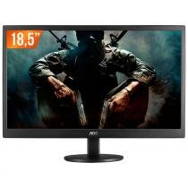 "Monitor led 18,5"" aoc hd widescreen e970swnl - Aoc"