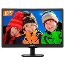"Monitor LED 18,5"" HD 193V5LSB2 PHILIPS -"