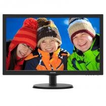 Monitor LED 18.5P Philips 193V5LSB2 Preto -
