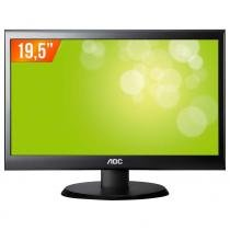"Monitor LED 19,5"" Widescreen E2050SWN AOC - AOC"