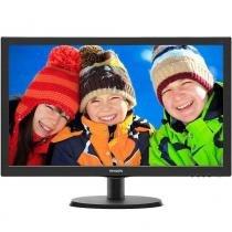 "Monitor LED 21,5"" Philips 223V5LHSB2, Full HD, Widescreen, VGA, HDMI - Preto -"
