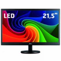 Monitor LED 21,5 Polegadas Widescreen/Full HD E2270SWN - AOC - AOC