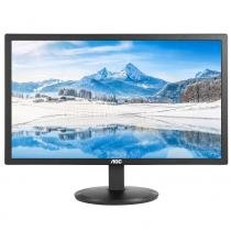 Monitor led 21 aoc e2280swdn preto widescreen -