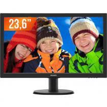 """Monitor LED 23,6"""" Full HD 1 HDMI 243V5QHAB Philips - Philips"""