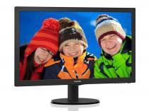 Monitor led 23 philips 243v5qhab 23,6 1920 x 1080 full hd wide vga dvi hdmi vesa multimidia -