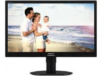 "Monitor LED 23"" Widescreen - Philips 231B4LPYCB Giratório"