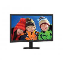 Monitor LED 23.6 Widescreen Philips 243V5QHABA Full HD Conexão HDMI -