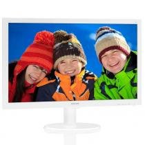 Monitor LED Philips 21,5 Widescreen Philips 223V5LHSW Full HD Branco - HDMI, VGA -