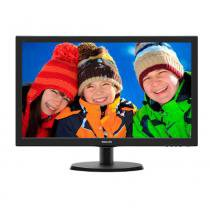 Monitor LED Philips 21.5 Polegadas Widescreen HDMI 223V5Lhsb2 - preto - Philips