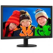 Monitor Led Philips 23.6 Polegadas HDMI Speaker 243V5QHAB - Philips informatica