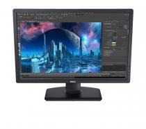 "Monitor LED UltraSharp IPS 24"" Widescreen Dell U2412M Preto -"