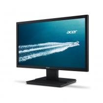 "Monitor LED Widescreen Acer 19,5"" V206HQL Preto HD - VGA -"