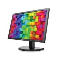 "Monitor LED Widescreen Lenovo 19,5"" E2002B Preto - VGA, DVI -"