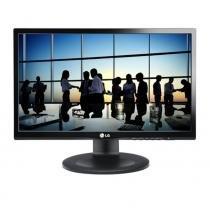 Monitor LG 21.5 LED LCD Wide, Preto, 5MS, Vesa -
