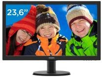 "Monitor para PC Full HD Philips LCD Widescreen  - 23,6"" V243V5QHAB"