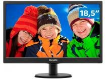 "Monitor para PC HD Philips LED Widescreen 18,5"" - 193V5LSB2"