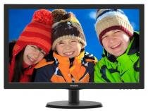 Monitor Philips LED 18.5 1366 X 768 Wide VGA Vesa Preto 193V5LSB2 -