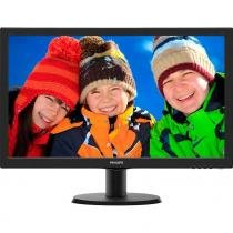 Monitor Philips LED 23,6 FULL-HD DVI, VGA, HDMI (VESA) WIDE Preto 243V5QHABA -