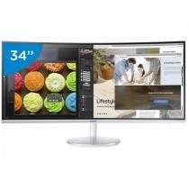 "Monitor Samsung LED Curvo 34"" Widescreen - C34F791"