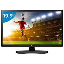 "Monitor TV LED 19,5"" LG 20MT48DF - Conversor Integrado 1 HDMI 1 USB"