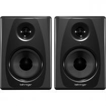 Monitores de Estúdio Behringer STUDIO 50USB 150W c/ woofer de Kevlar (par) -