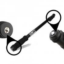 Monopé para câmeras e filmadoras com capacidade de 3 kg greika wt 1003 -