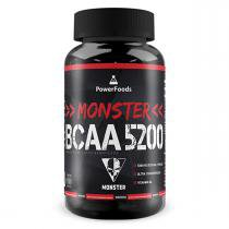 Monster BCAA 5200 - 300 tabletes - PowerFoods - PowerFoods