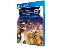 Monster Energy Supercross 2 The Official Videogame - para PS4 Milestone