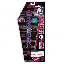 Monster High Relógio Bracelete Roxo - Fun Divirta-Se - Monster High