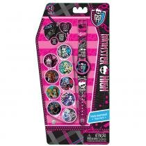 Monster High Relógio Digital com Tampa - Fun Divirta-Se - Hot Wheels