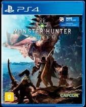 Monster Hunter World Ps4 Br - Warner games br