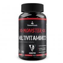 Monster MultiVitamínico 30 Cáps - PowerFoods -