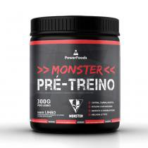 Monster Pré-Treino - 300g - PowerFoods - PowerFoods