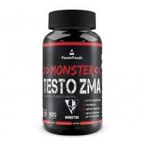 Monster Testo ZMA 120 Cáps - PowerFoods - PowerFoods