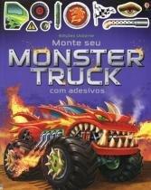 Monte seu monster truck - com adesivos - Usborne (nobel)