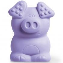 Mordedor Animais - Porquinho Lilás - Toyster - Toyster