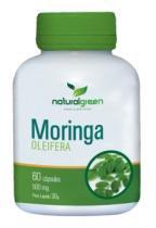 Moringa oleífera Natural Green 60 Cápsulas de 500mg -